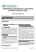 """Società Capogruppo del Gruppo Assicurativo """"HDI ... - Consel - Page 4"""