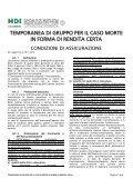 """Società Capogruppo del Gruppo Assicurativo """"HDI ... - Consel - Page 7"""