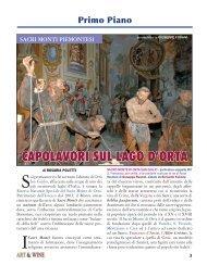 CAPOLAVORI SUL LAGO D'ORTA - Art & Wine
