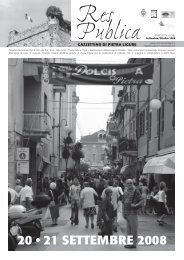 Settembre_Ottobre 2008 - Comune di Pietra Ligure