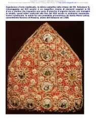 Capolavoro d'arte medievale, la mitria custodita nella ... - Agyrion