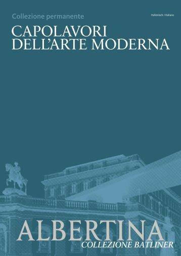 CAPOLAVORI DELL'ARTE MODERNA - Albertina