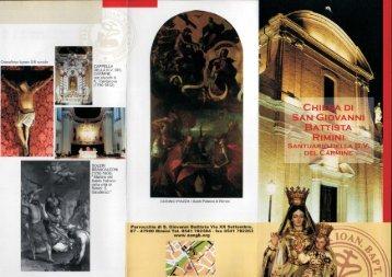 Scarica la brochure della Chiesa di San Giovanni - Musica Ficta