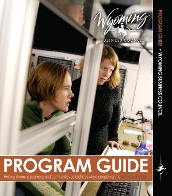Wyoming Business Council Program Guide - Casper Area Economic ...