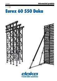 Puntelli per solai Eurex 60 550 - Doka