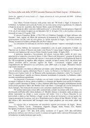 La Storia della sede della XVIII Comunità Montana dei Monti Lepini ...