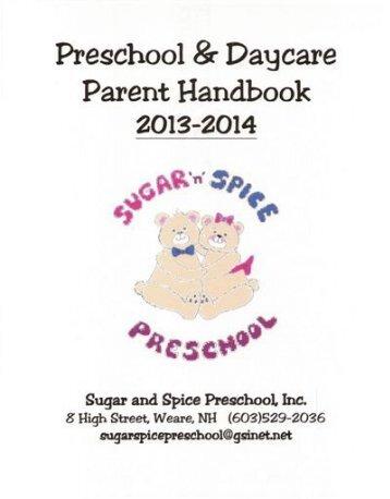 Preschool &Daycare - Sugar and Spice Preschool