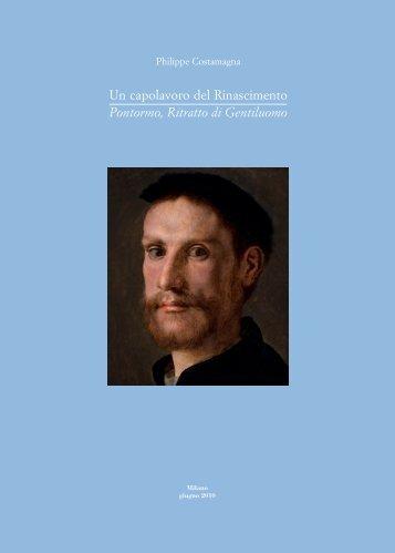 Un capolavoro del Rinascimento Pontormo, Ritratto di Gentiluomo