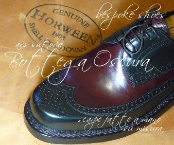 Italia - scarpe classiche su misura cucite e montate a mano da un ...