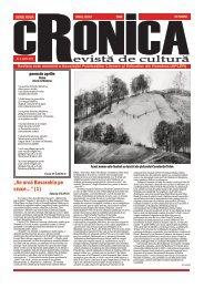 Aprilie 2012 - Revista CRONICA Iaşi