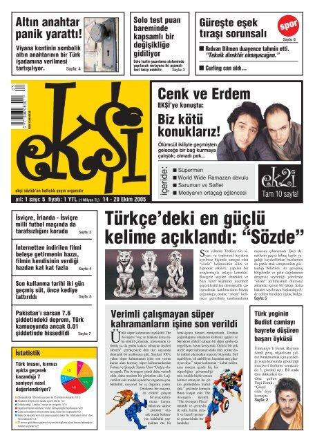 turkce deki en guclu kelime ac kland