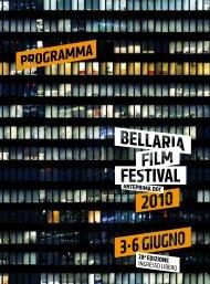 Il programma del Bff2010 in pdf - Mediateca delle Marche