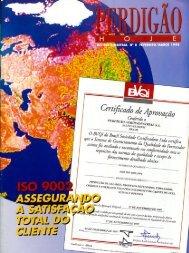 Revista BRF Fevereiro / Março 1998 Edição 6 Arquivo PDF ( 5,6 MB )