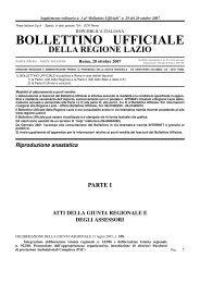 DELIBERAZIONE DELLA GIUNTA REGIONALE 13 luglio 2007, n