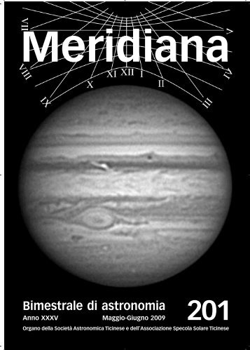 Meridiana 201.qxp:Meridiana - Società Astronomica Ticinese