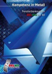 DELWOline Flyer - Kompetenz in Aluminium (Alu), Edelstahl und ...