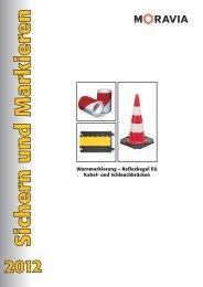 Warnmarkierung – Reflexkegel EU Kabel- und Schlauchbrücken