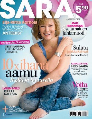 Sarassa - Eija-Riitta Korhola