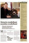 Riitta Simonen teki joulumatkan Muuruvedelle. 8–9 - Kuopion Ev.lut ... - Page 7