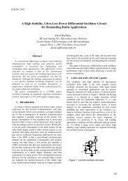 A High-Stability, Ultra-Low-Power Differential Oscillator ... - Imec