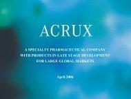 Mr Igor Gonda, CEO, Akrux Pty Ltd - Intellectual Property Research ...