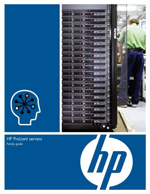 HP ProLiant servers - Family Guide - GovConnection