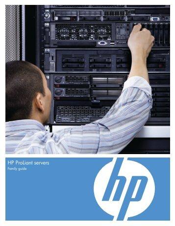 HP ProLiant servers - Applied Software Technologies