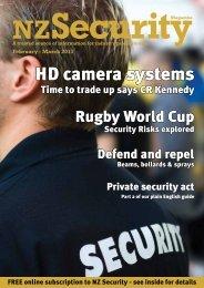 HD camera systems - NZ Security Magazine