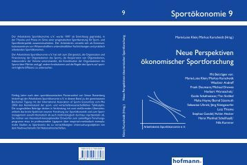 Sportökonomie 9 - Sport et Citoyenneté