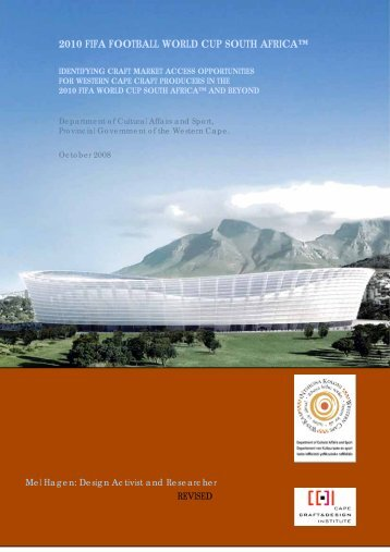 2010 fifa football world cup south africa - Cape Craft and Design ...