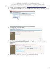Pedoman Pendaftaran dan Upload Abstrak - Program Studi Teknik ...