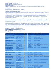 Project acronym: BCP 2004-2007 Project title: Baltic Cruise Project ...