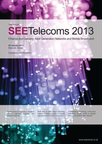 "SEE Telecoms 2013.pdf - Follow ""Quoracy.com"""