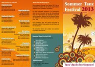 Sommer Tanz Festival 2013 - Jendrock