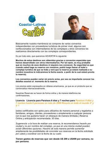resorts caribe2 - Coastal-Latinos