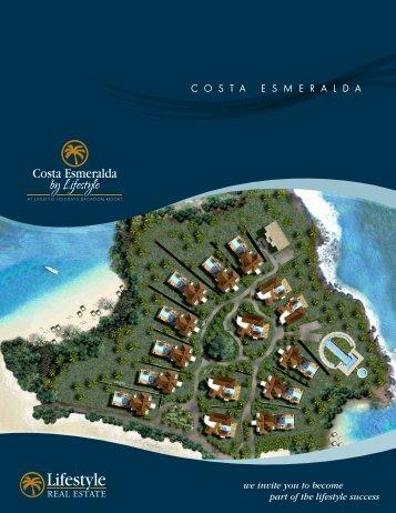 Costa Esmeralda Brochure - Lifestyle Holidays Vacation Resort