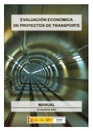 Manual de evaluación económica de proyectos de transporte