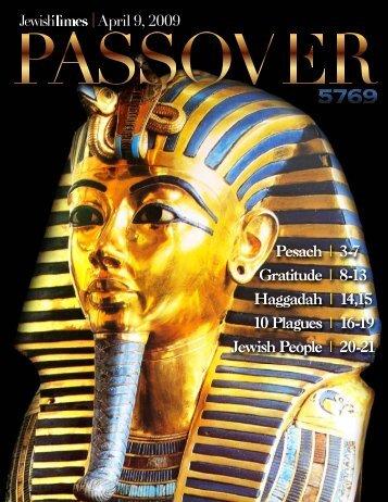 Pesach   3-7 Gratitude   8-13 Haggadah   14,15 10 ... - Mesora.org