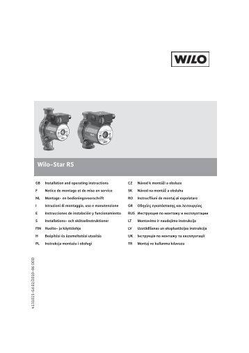 Wilo-Star RS - Voelkner