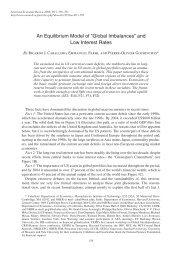 """An Equilibrium Model of """"Global Imbalances"""" and ... - MIT Economics"""