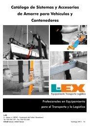 Catálogo de Sistemas y Accesorios de Amarre para Vehículos y ...