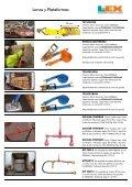 Catálogo de Sistemas y Accesorios de Amarre para Vehículos y ... - Page 3