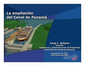 La ampliación del Canal de Panamá - Chile Exporta Servicios