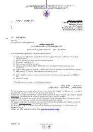 Verbale consiglio regionale 1-2 ottobre 2011 - Agesci Liguria