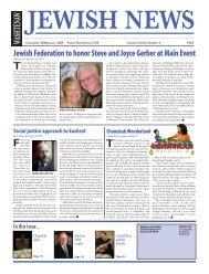 Jewish Federation to honor Steve and Joyce Gerber - Washtenaw ...