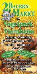 Bayrischer Biergarten Kaffee&Kuchen - Vogelpark Viernheim
