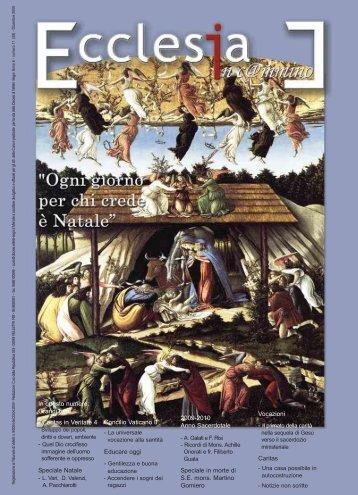 In questo numero: Grandi temi - Diocesi Velletri-Segni