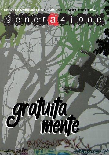GRATUITA MENTE GRATUITA MENTE - generAzione rivista