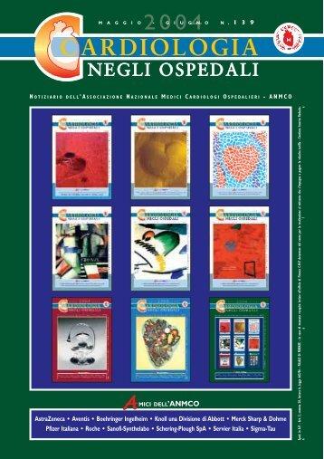 Cardiologia negli Ospedali n° 139 Maggio/Giugno 2004 - Anmco
