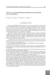 La valutazione delle disfonie in relazione alla invalidità - AOOI